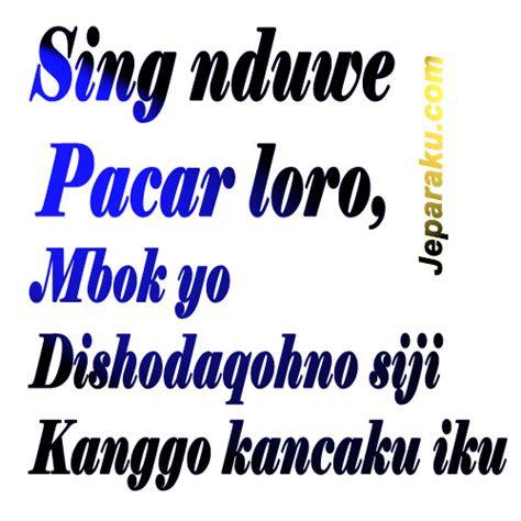 kumpuluan gambar dp bbm lucu bahasa jawa jeparakucom