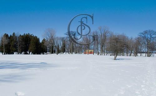 Orillia - Tudhope Park Winter View
