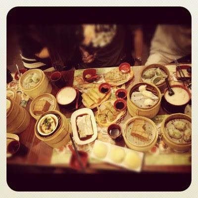 Dim sum morning!:) (Taken with instagram)