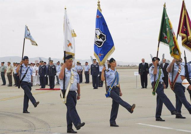 La toma de posesión se ha celebrado en la Base Aérea de Zaragoza