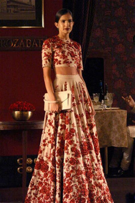 Trend Alert: Floral Bridal Lehengas for a Beautiful Bride