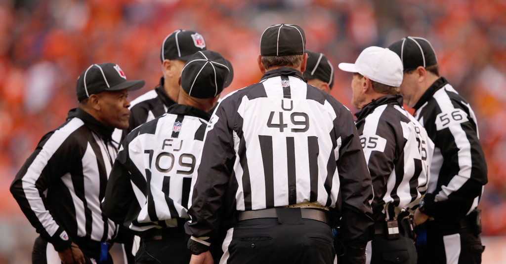 BREAKING: NFL Pulls Several Referees From ChiefsRams Game In Unprecedented Decision  Daily Snark