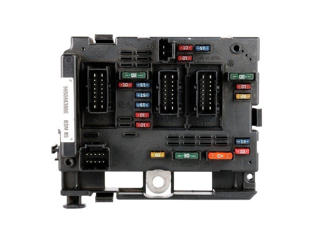 Citroen C3 Fuse Box