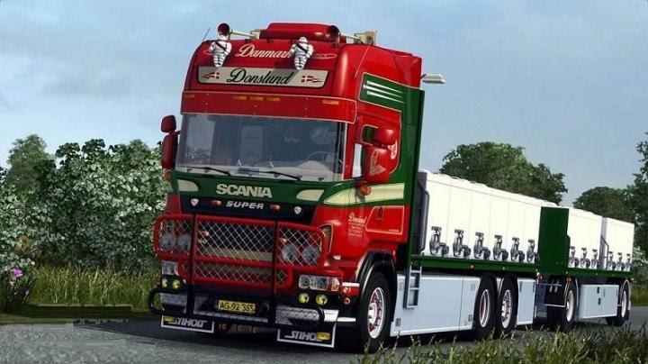 Ets2 Scania Donslund V X Simulator Games Mods
