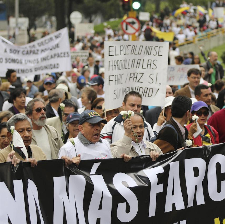 No más FARC, Colômbia