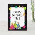 Party Hats Card card