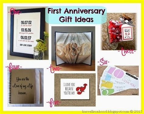 first wedding anniversary gift ideas, traditional paper