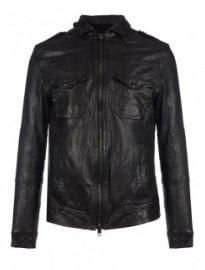 Allsaints Stenburg Leather Jacket