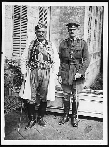 King of Montenegro and Lt. Gen. Sir E.H.H. Allenby