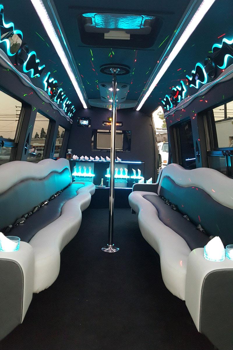 Luxury Sprinter Van Rental - Mercedes Benz Sprinter Limo Bus