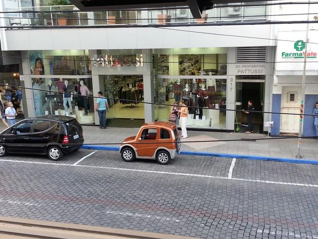 Motoristas acatou orientação e reposicionou o veículo (Foto: Guilherme Giannoulakis/Arquivo Pessoal)