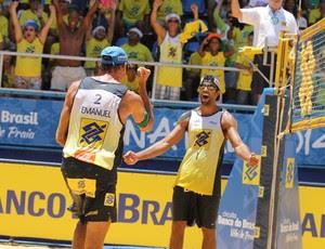 Volei de Praia - Circuito Brasileiro - Pedro Solberg e Emanuel (Foto: CBV)