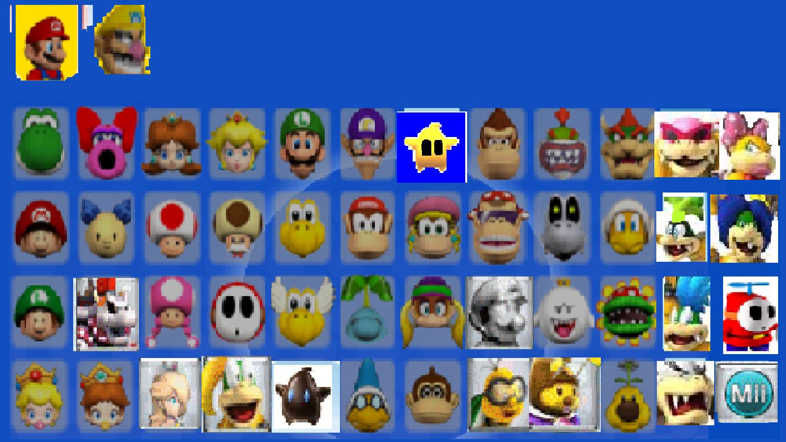 File Blast How To Unlock Characters In Mario Kart Wii