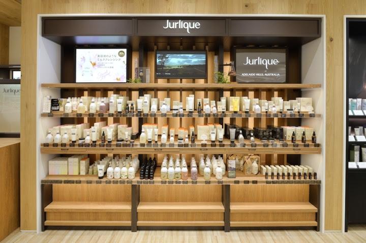 Jurlique beauty shop by curage design office, Nagoya ...