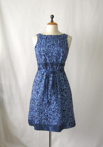 McCalls 5882 dress front