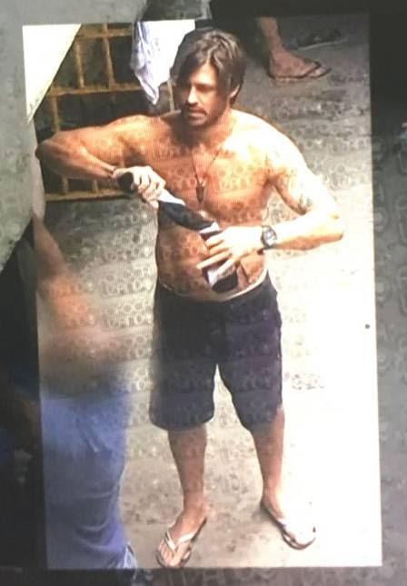 PENSÃO ALIMENTÍCIA - Dado Dolabella é fotografado lavando roupa dentro da prisão