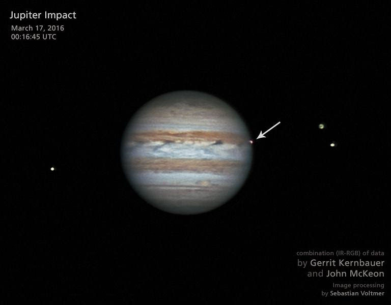 Jupiter Fireballs: Big Impacts Occur 6 to 7 Times Per Year