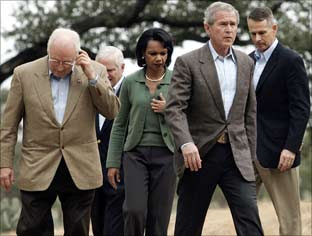 Bush and National Security Team