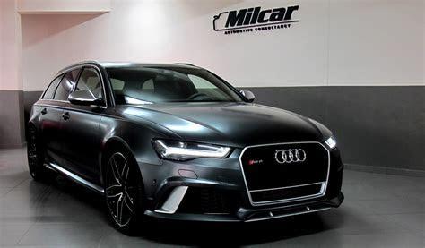 MILCAR ::: Automotive Consultancy » Audi RS6 AVANT 2016