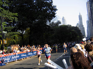 The 2005 New York City Marathon, on Central Pa...
