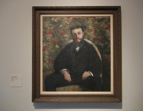 DSCN7950 _ Portrait of A. Cassabois, 1877, Gustave Caillebotte (1848-1894), LACMA
