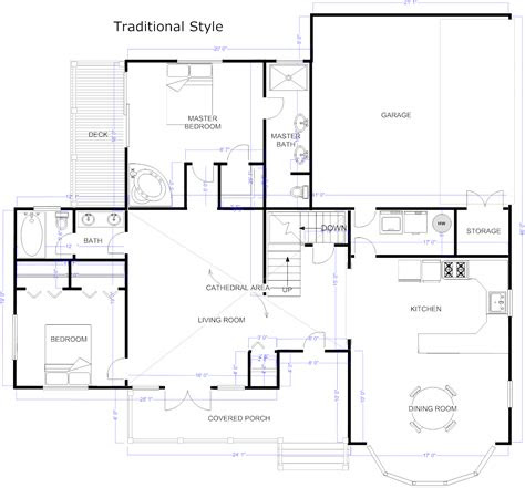 house floor plan design software simple small house