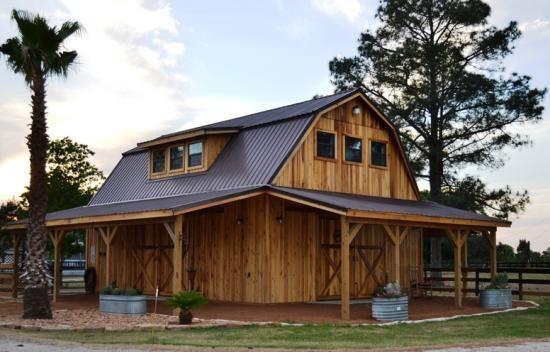 Bobbs open sided pole barn plans for Open pole barn