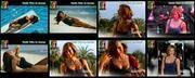 Melhor na Tv 2015/808 - Claudia Vieira sexy em biquini num anuncio e no FamaShow