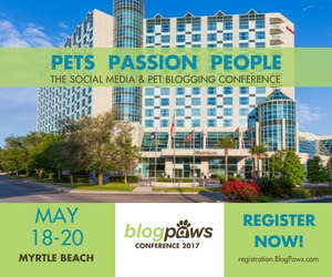 BlogPaws 2017  Conference will sell out so don't delay, get your tickets & reserve your hotel room now!