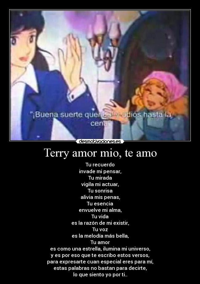 Terry Amor Mio Te Amo Desmotivaciones