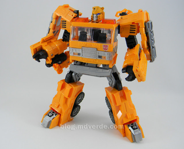 Transformers Grapple United Voyager - modo robot