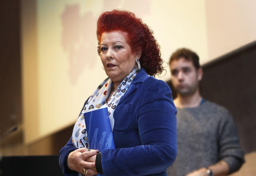 Consuelo Ciscar, directora del IVAM, en 2014.
