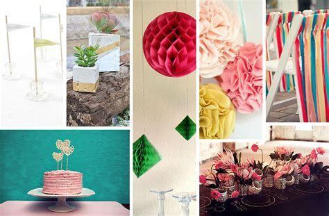 DIY Wedding Decorations for Spring