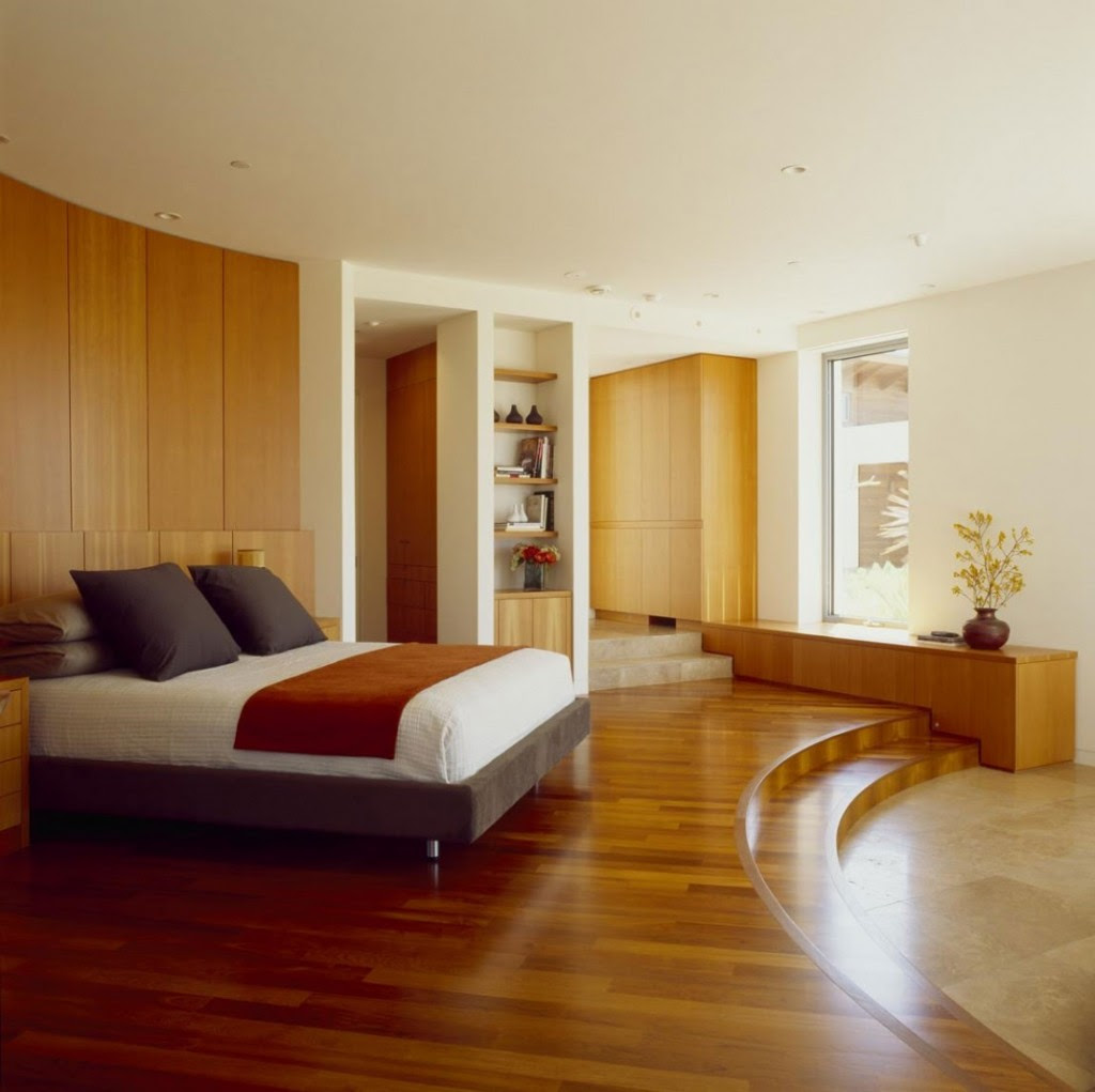 33 RUSTIC WOODEN FLOOR BEDROOM DESIGN INSPIRATIONS ...