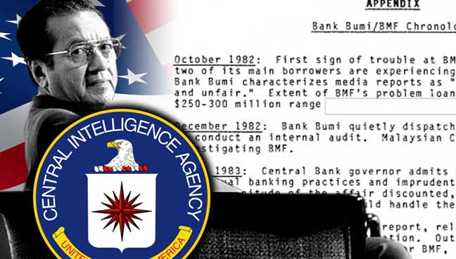 Mahathir-CIA