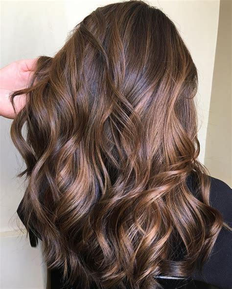 dark brown hair  highlights ideas   hair
