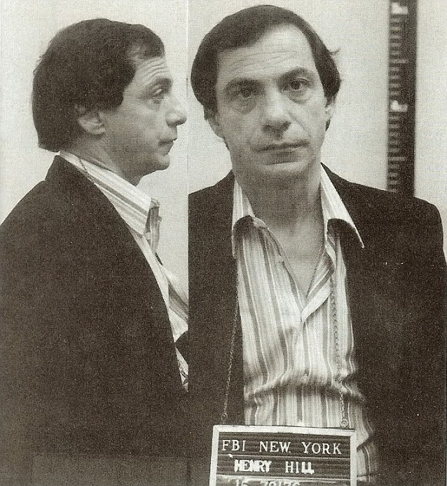 In trouble: A police mugshot of Henry Hill following his arrest in New York