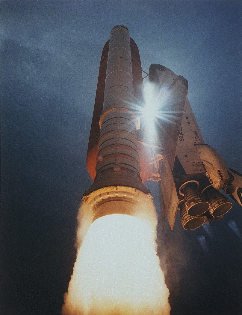 Aug02-1991-STS43liftoff
