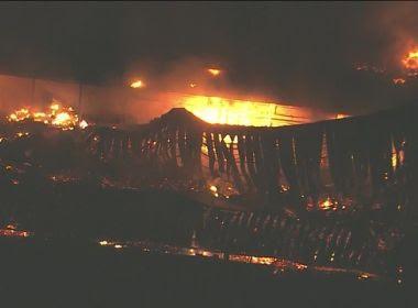 Incêndio atinge estúdios da Rede Globo no Rio de Janeiro