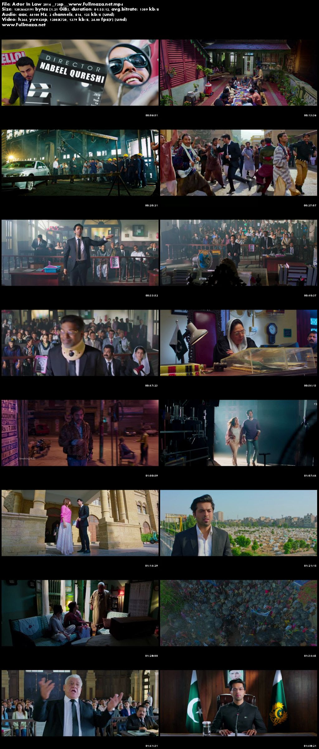 Actor in Law (2016) Pakistani Movie 720p HDRip [1.2GB]