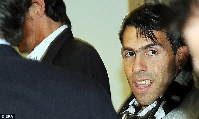 Gone: With a checkered history in England, Tevez will be hoping to recreate his image in Italy