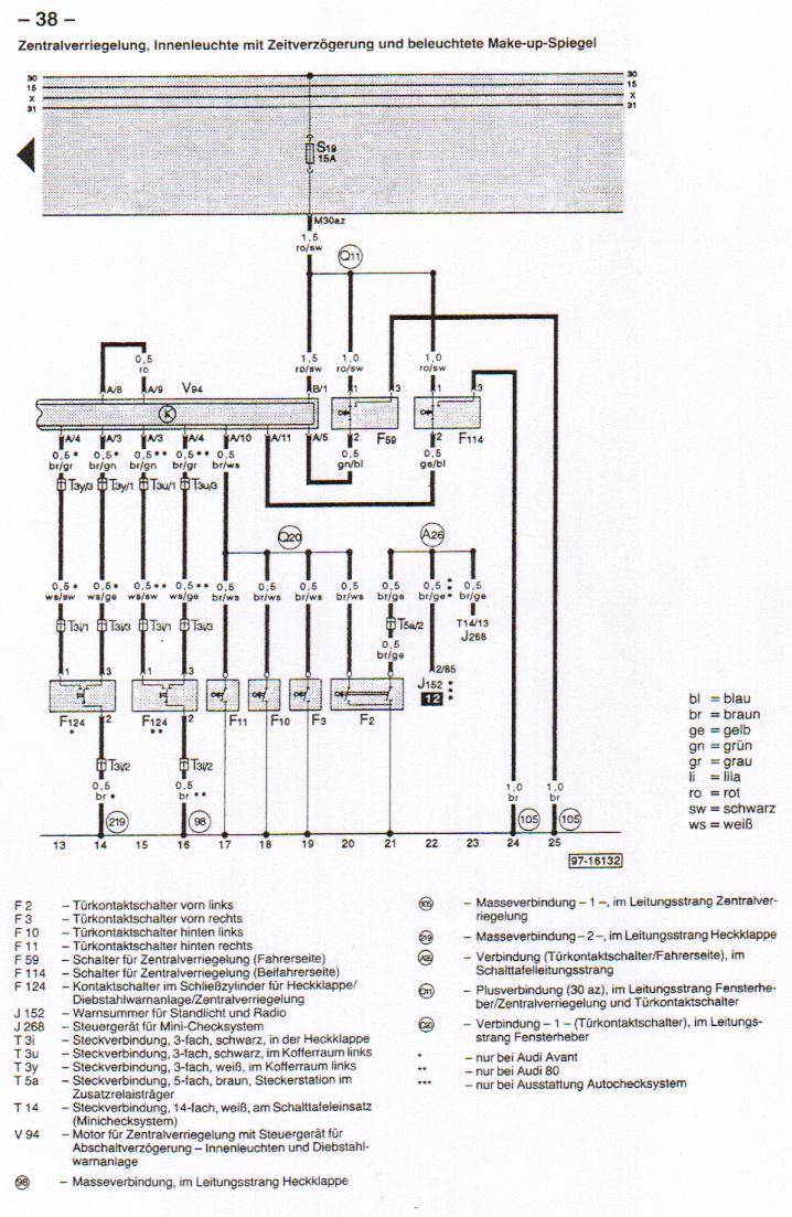 Diagram Wiring Diagram Audi 80 B4 Full Version Hd Quality 80 B4 Diagramrt Hosteria87 It