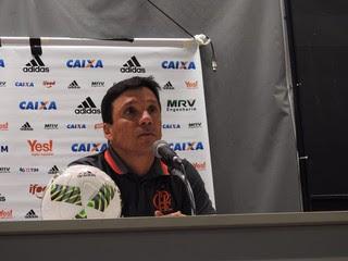 """Zé Ricardo lamentou o empate no fim: """"Frustrado, lógico"""" (Foto: Fred Gomes)"""
