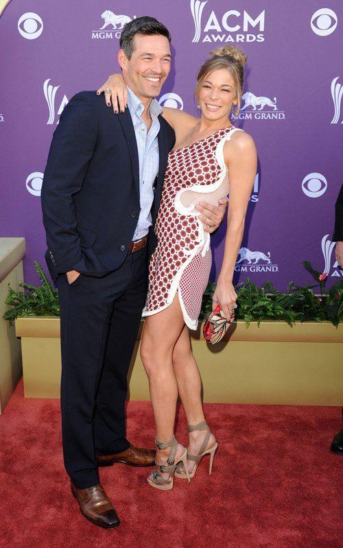 Academy of Country Music Awards - April 1, 2012, LeAnn Rimes, Eddie Cibrian