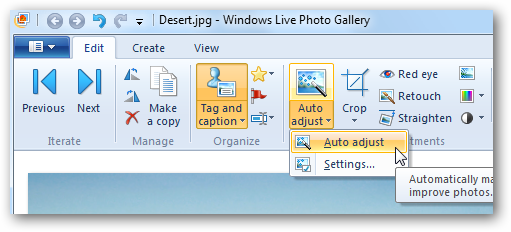 Getting Started With Windows Live Photo Gallery 2011 The