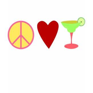 Peace, Love, Margarita shirt