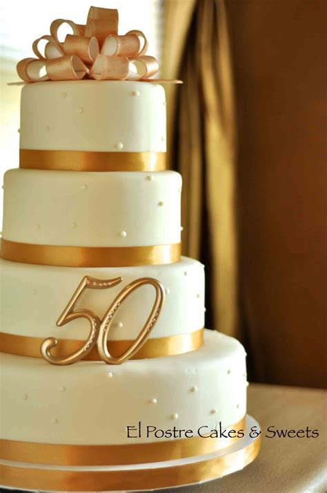 50Th Wedding Anniversary   CakeCentral.com