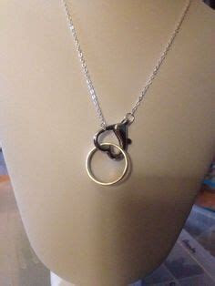Beloved wedding band made into a necklace pendant.   Bowen