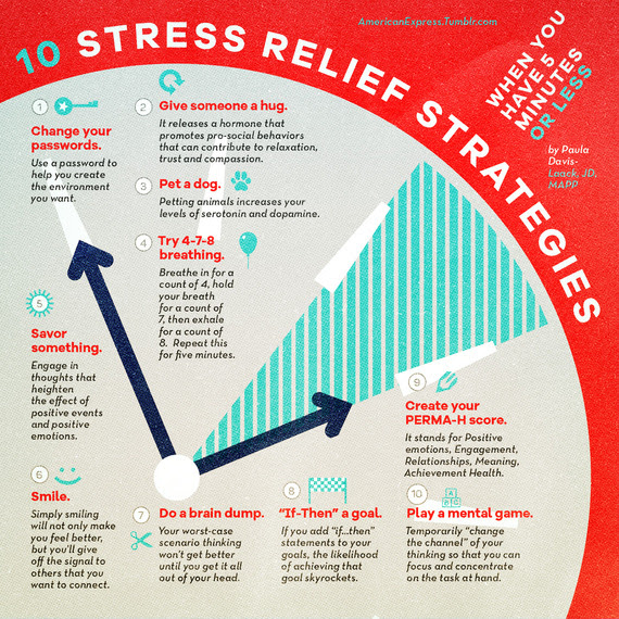 10 Stress-Relief Strategies When You Have Five Minutes or ...