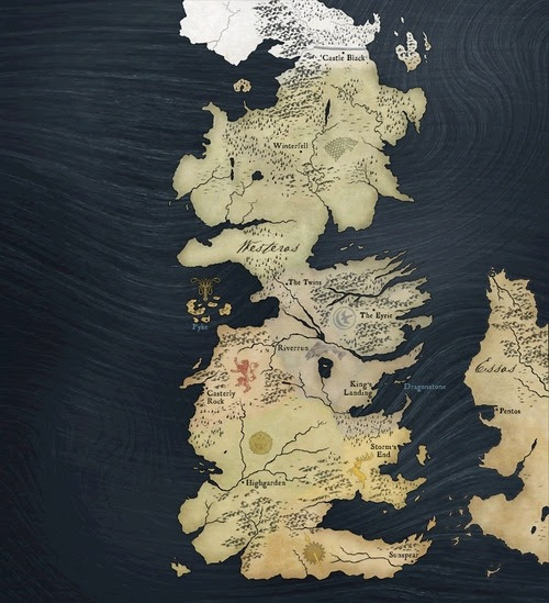 game of thrones map of westeros. GAME OF THRONES Interactive